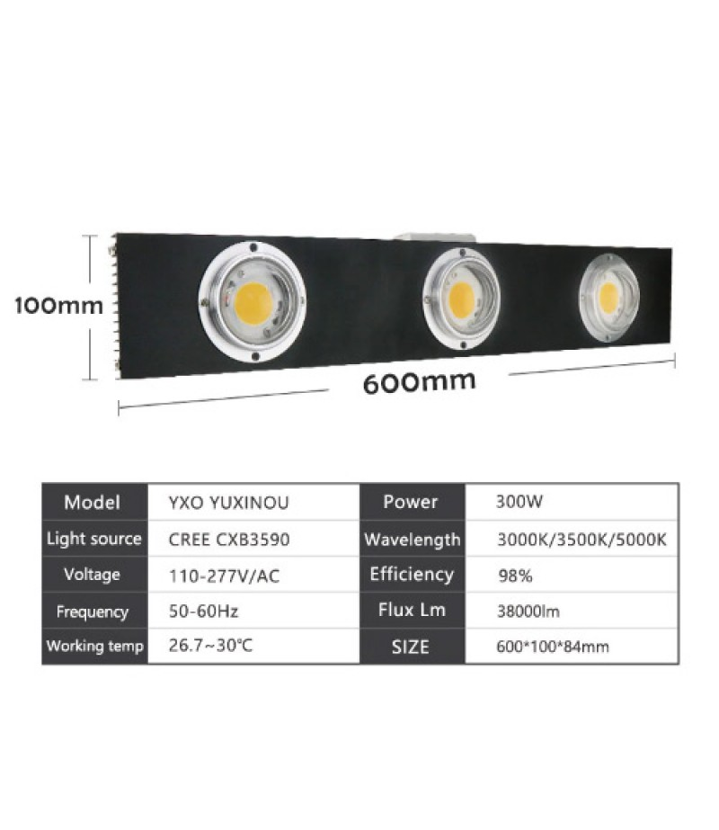 300w Cob Led Grow Light Is The Best Seller It Is So