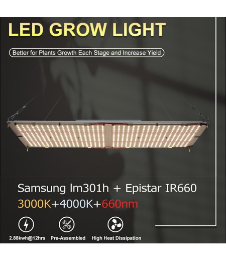 Led Grow Lights LM301H 240W 3000K+4000K+660nm