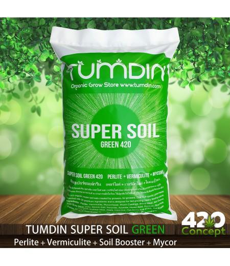Organic Super Soil Green 420 Single Pack 1.8 Gallon by Tumdin
